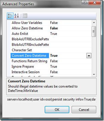 """How to fix """"Unable to convert MySQL date/time value to"""