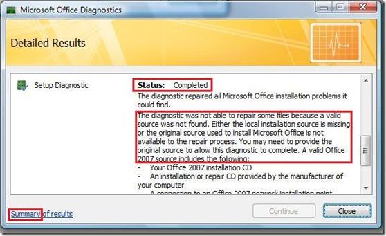 Office2007_Diagnostics_Summary_FakeSuccess2